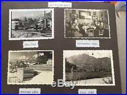 Vtg WWII Germany Austria Alps 1940s-1960s Family B&W Photographs Photo Album
