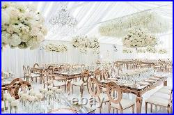 Wedding Ceiling Drapery, Wedding Backdrops, 10' x 30' 4 pieces, 5 COLORS