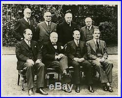 Winston Churchill Set of 5 vintage original Press Photo 1940 1941 1952 1953 1955