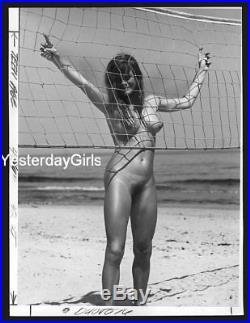 Ygst-1031 Vintage 1960's B/w 7 X 9.5 Art Posed Nude Shot By Helmut Stege