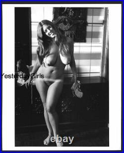 Ygst-2515 Vintage B/w 8x10 1960's Sweet Art Posed Buxom Nude
