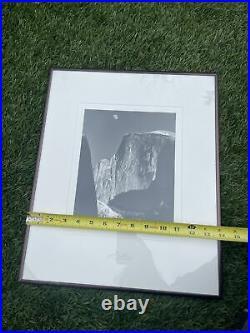 Yosemite Special Edition Photograph Moon & Half Dome Ansel Adams Print 8x10