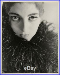 Young Supermodel Carmen Dell'Orefice Vintage 1945 Large Peter Basch Photograph
